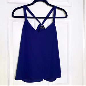 The Fifth Label Navy Sleeveless Blouse